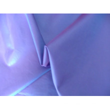 Tecido de cor sólida de cetim de microfibra de poliéster customizável