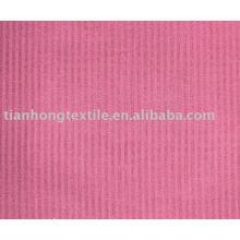 100% algodón teñido de tela de la ropa de rayas vestido camiseta