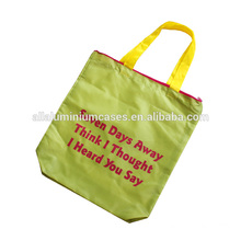polyester vegetable bag/large shopping beach bag polyester