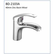 Bd2103A Robinet de lavabo à levier unique Zinc 40mm