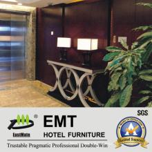Hot Hotel Console Design Nouvelle table décorée en bois massif (EMT-CA33)
