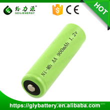 Lanterna recarregável 900mAh NIMH AA 1.2V Bateria