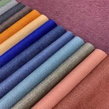 Tecendo couro sintético com textura de colisão para embalagem de artesanato