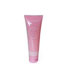 D30mm pink cute hand &nail cream plastic tube 40g