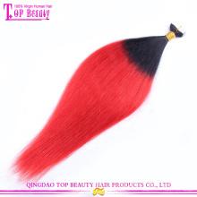 Extensão de cabelo brasileira da fita de trama da pele da qualidade 2015 superior