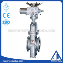 A105 wcb motor operated plate gate valve pn16