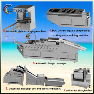 PLC control bread machine series