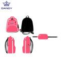 Custom cheerleaders glitter backpacks