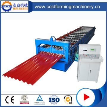 Fully Automatic Corrugated Roofing Sheet Making Machine