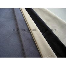 Branco branqueado ou tingido de liso T / C tecido de bolso