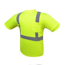 Wholesale Safety Reflective Work Shirts Custom Hi-Visibility Safety Shirts high visibility shirts wholesale