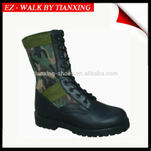 Jungle boots military with PU/rubber outsole