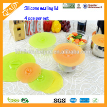 Hot Sell FDA&LFGB bowl silicone dustproof cover