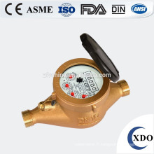 Compteur d'eau jets multiples type sec classe C