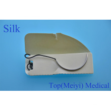 Surgical Suture with Needle- Silk Braided Surgical Suture