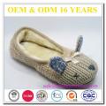 Nouvelle cachemire de mode avec fourrure en fourrure hiver chaussures de concepteur d'animaux mignons