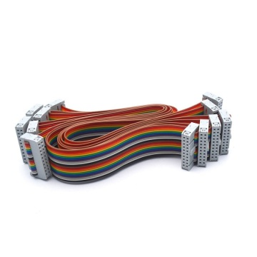 20P IDC Rainbow ribbon cable