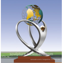 2016 New Stainless Steel Outdoor Art Sculpture For Garden&Outdoor