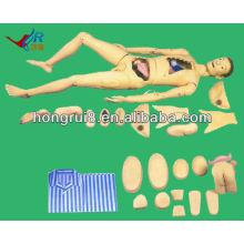 Advanced basic comprehensive Nursing Manikin h100s