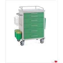 Chariot d'anesthésie médicale de luxe