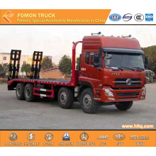Dongfeng TianLong 8x4 30tons harvester transport truck