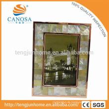Eco freundliche goldene Perlmutt-Rahmen Foto mit goldenem Rand