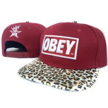 2013 Wholesale leopard print Obey Snapback cap Men Hip Pop Baseball cap Unisex Snapback hat Obey hat