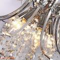 El restaurante de la lámpara de cristal de acrílico de cristal llevó la iluminación 71051