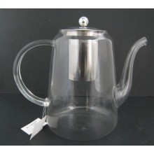 Borosilicate Glass Teapot with Stainless Steel Infuser