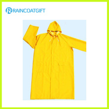 Impermeable de poliéster impermeable de PVC Men′s