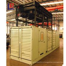 1000kw Комбинированные теплоэнергетические системы Контейнерная газовая электростанция