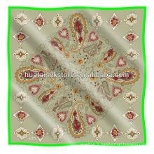 Écharpe turque / sérigraphie écharpe turc imprimée à motif paisley