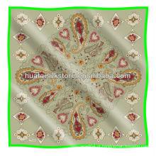 Lenço turco / tela impressa paisley design lenço turco