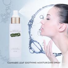 Organic Cbd Hemp Oil Acne Skin Toner Cream Face Toner with Private Label Skin Moisturizing Cbd Hemp Leaf Toner to Shrink Pores Good Texture Face Toner Cosmetics