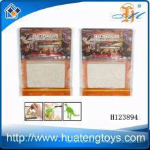 Novedad caliente venta de plástico excavar juguete de fósiles de dinosaurio para niños H123894