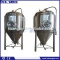 Horizontaler und vertikaler Edelstahltank für Bier