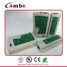 China precio Competive RJ11 RJ12 RJ45 red de crimper tester de cable de red