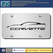 ISO 9001 aprovou placa de aço inoxidável personalizado