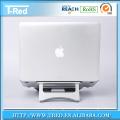 Super calidad plegable portátil de aluminio soporte para Macbook