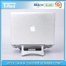 Suporte de laptop dobrável de alumínio para mesa de trabalho