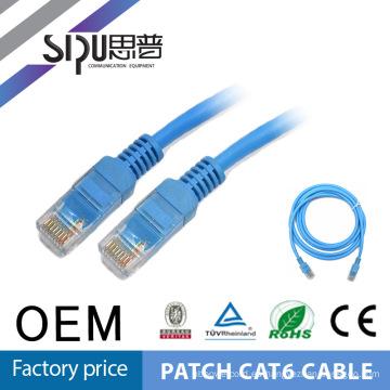Precio de fábrica de buena reputación 4 pares de cobre pelado SIPUO mejor precio 0,57 mm Patch Cables Cat6