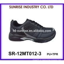 Preto esporte homens sapatos esporte sapatos China esportes sapatos 2015
