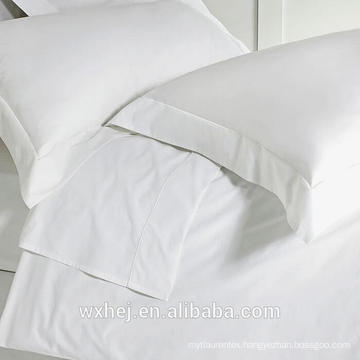 wholesale cheap white 100% poly hotel use Blank Dye Pillow case