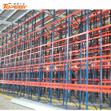van high density storage shelving systems