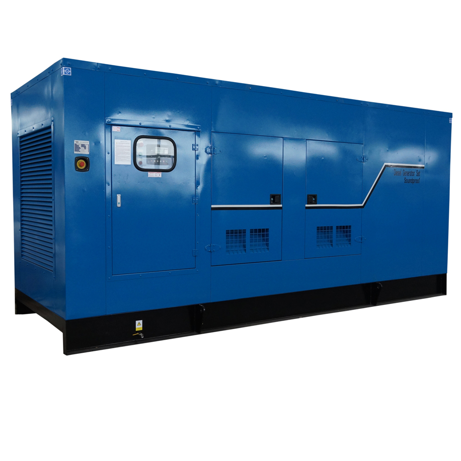 916-400 kW what's the quietest generator you used