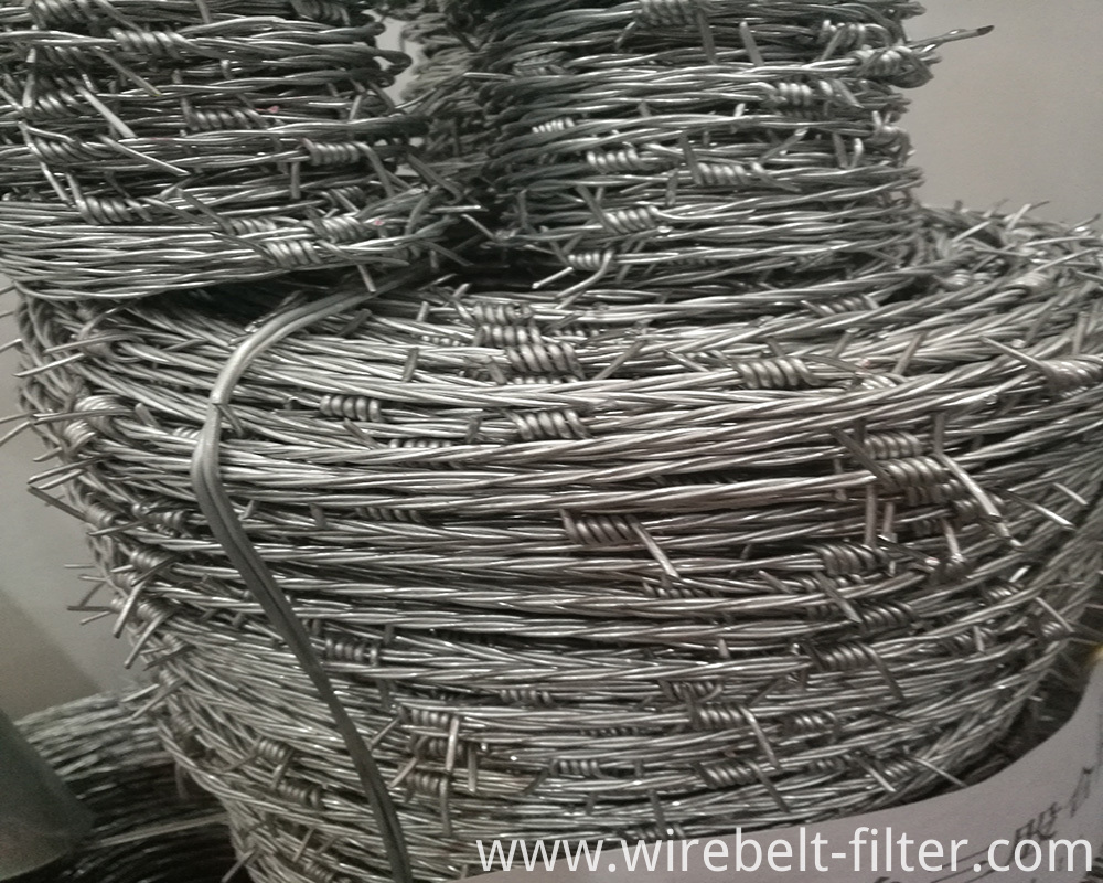 Three Strand Barbed Wire