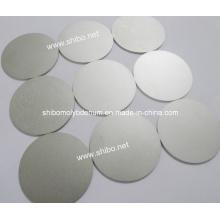 Disque / disque / cercle de molybdène poli (99,95% pur)