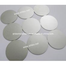 Полированный молибденовый диск / диск / круги (чистота 99,95%)