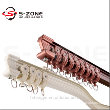 Szone length 6m aluminum curved curtain rail