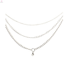 2015 stainless steel fashion gold statement necklace models